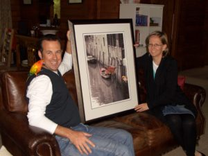 Gallery of happy clients mobile picture framing in Melbourne