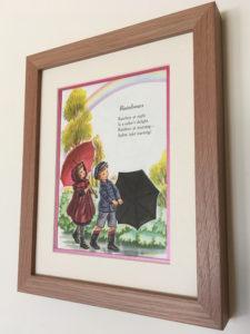 Buy framed childrens art Inspired Framing Art etsy