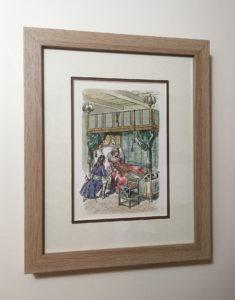 Buy framed childrens art etsy Inspired Framing Art
